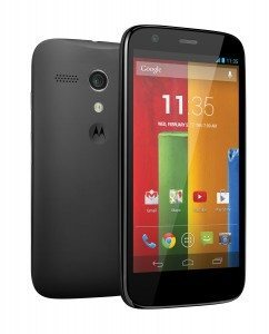 "Motorola Moto G 8 GB - Smartphone libre Android (pantalla 4.5"", cámara 5 Mp, 8 GB, Quad-Core 1.2 GHz), negro"