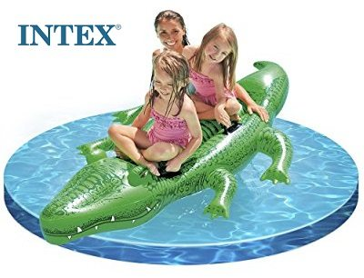 Intex - Cocodrilo hinchable Gigante