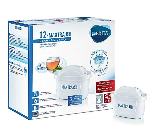 Pack de 12 BRITA MAXTRA+ Filtro para agua