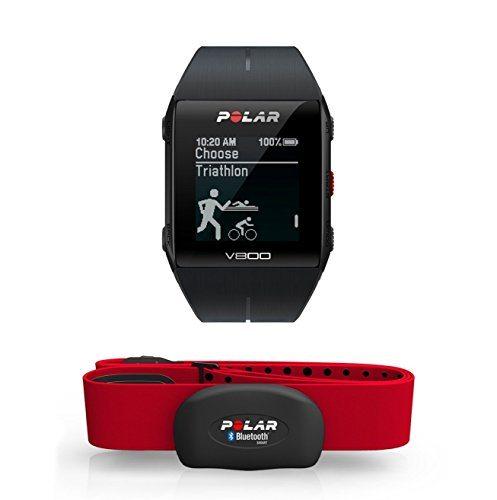 Polar V800 HR - Reloj deportivo GPS y sensor de frecuencia cardíaca H7 H