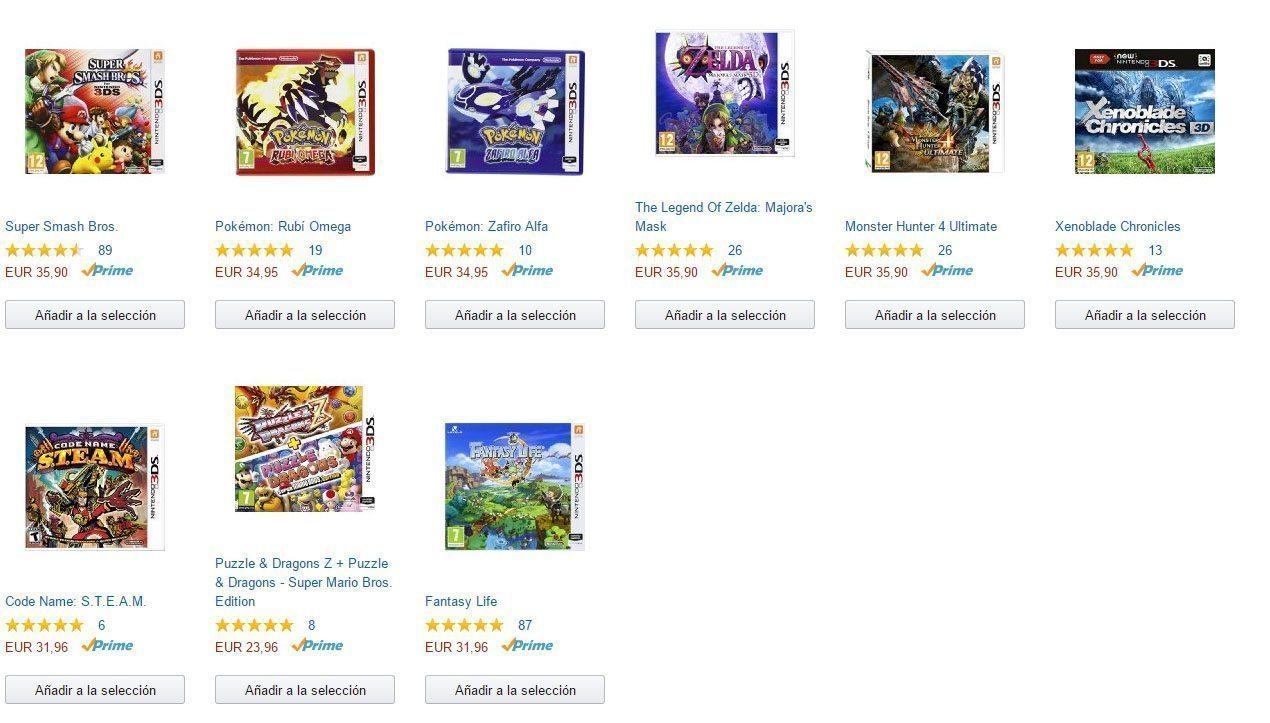 3x2 en juegos Nintendo 3DS