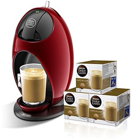 Pack Cafetera DeLonghi Dolce Gusto Jovia + 3 packs de café