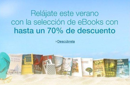 Ofertas en eBooks Kindle! Este verano relájate con descuentos de hasta un 70%.