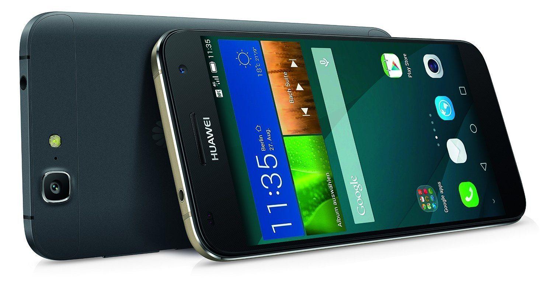 "Huawei G7 - Smartphone libre Android (pantalla 5.5"", cámara 13 Mp, 16 GB, Quad-Core 1.2 GHz, 2 GB RAM), negro"