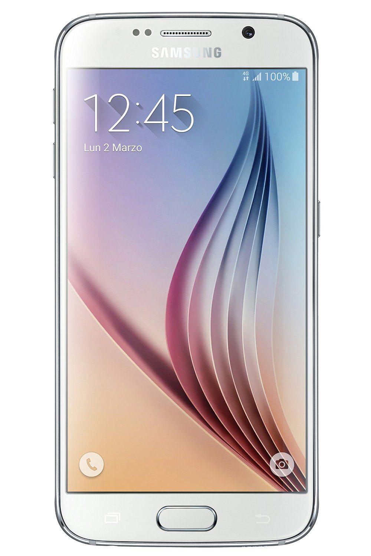 "Samsung Galaxy S6 - Smartphone libre Android (pantalla 5.1"", cámara 16 Mp, 32 GB, Quad-Core 2.1 GHz, 3 GB RAM), blanco"