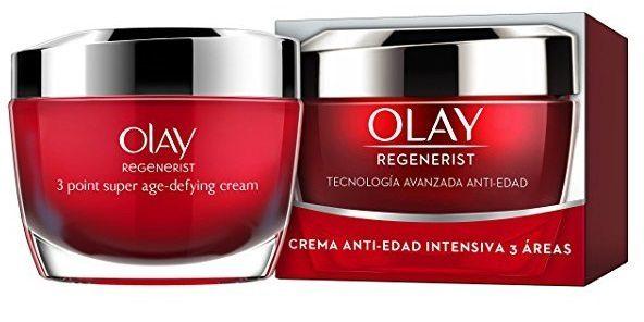 Olay Regenerist 3 Áreas Crema Hidratante Anti-Edad Reafirmante