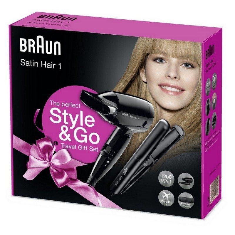 Chollo! Braun Style&Go - Pack Secador de viaje iónico HD 130 + ...