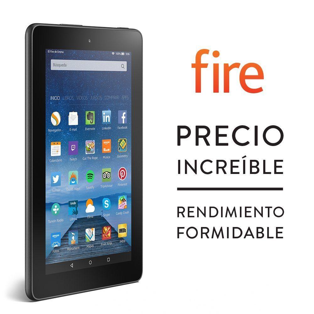 """Fire, pantalla de 7"""" (17,7 cm), Wi-Fi, 8 GB - incluye ofertas especiales"""