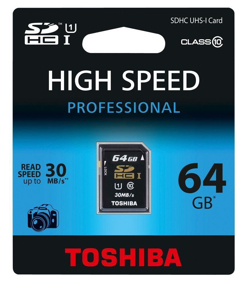 Toshiba 64GB SDXC