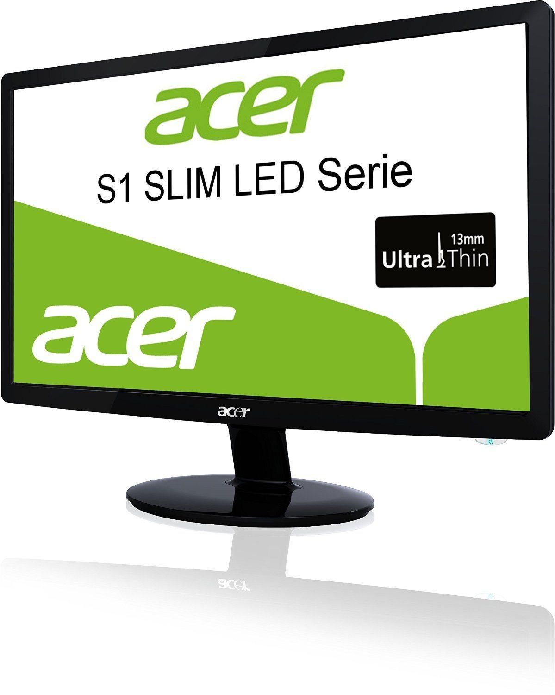 """Acer S241HLB - Monitor LED de 24"""" (1080p, 2 MS, HDMI, VGA, DVI)"""