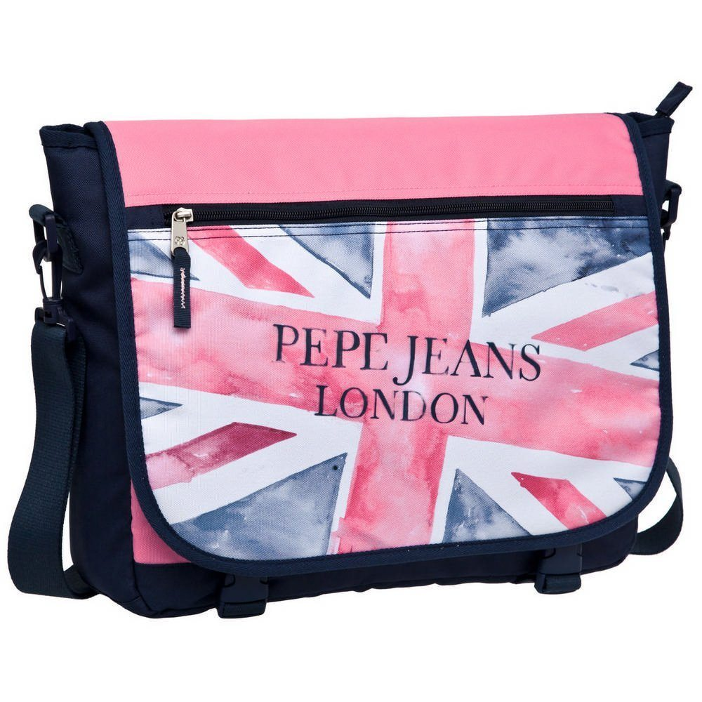 Pepe Jeans - Bolso bandolera, 11 Litros