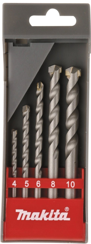 Makita D-05175 - Kit de brocas para hormigón Economy 5 pza.