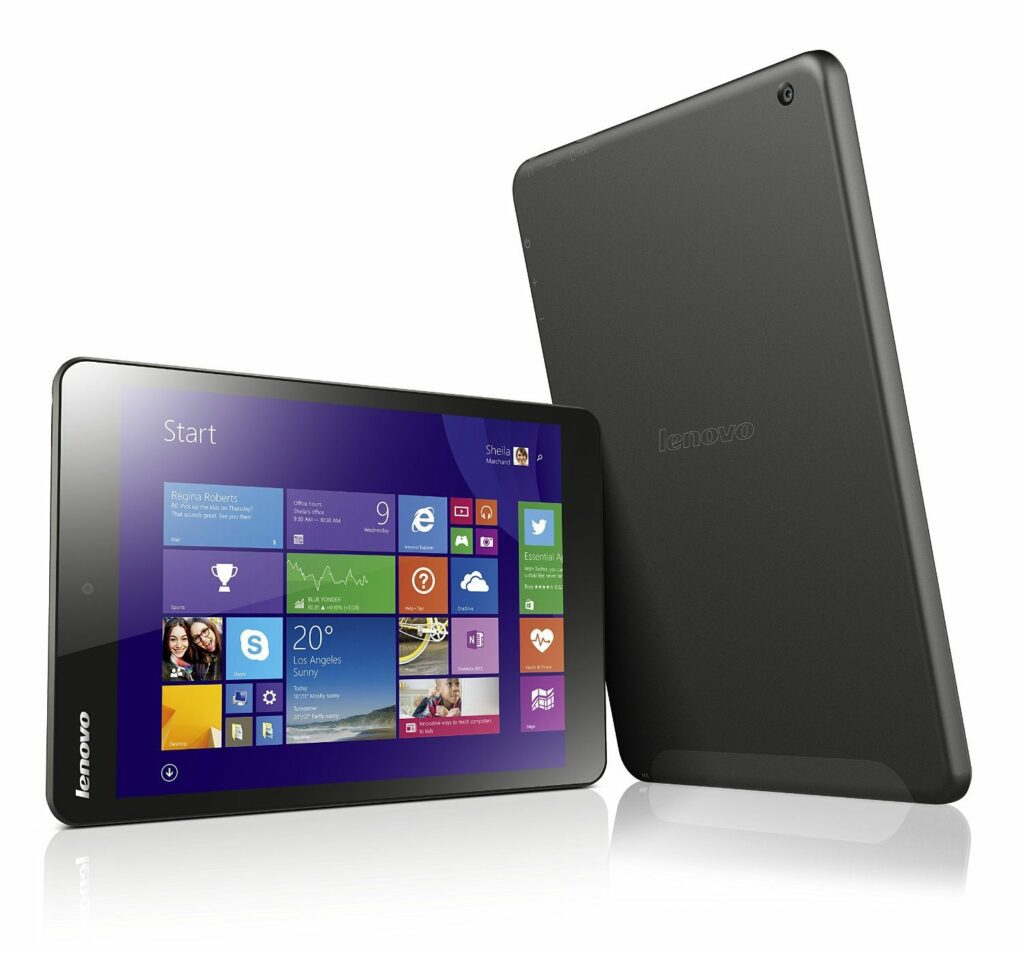 "Lenovo Miix 3.8 - Tablet de 8"" (WiFi, 32 GB, 2 GB RAM, Windows 8.1)"