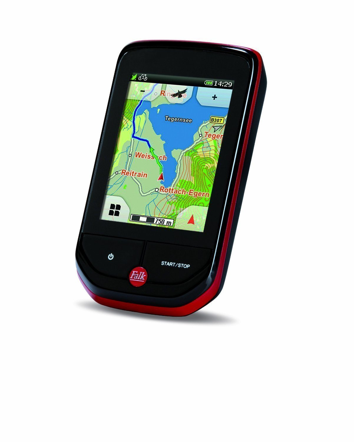"Falk Pantera 32 - Navegador GPS (All Europe, 63.5 mm (2.5 ""), Vertical, Flash, 128 MB, 8 GB)"