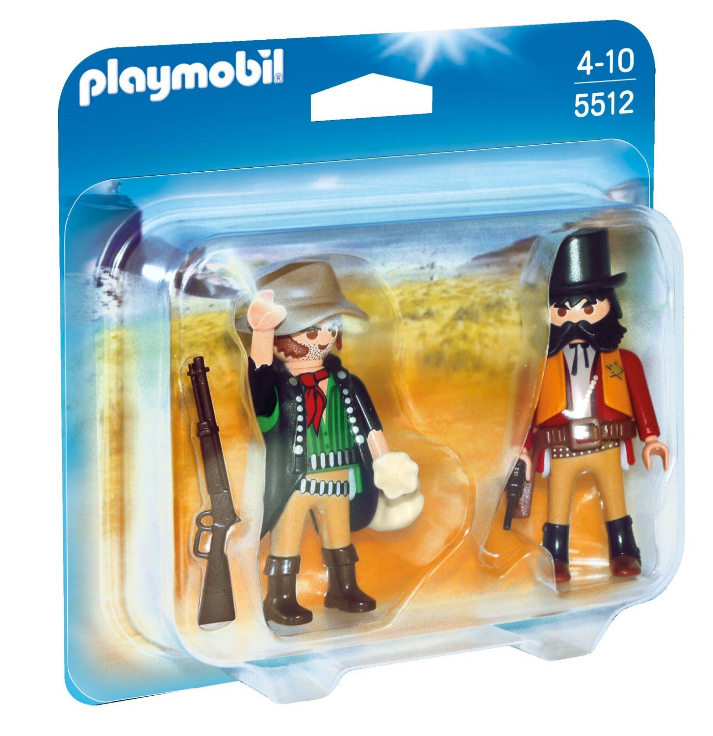 Playmobil Duo Pack - Sheriff y bandido (5512)