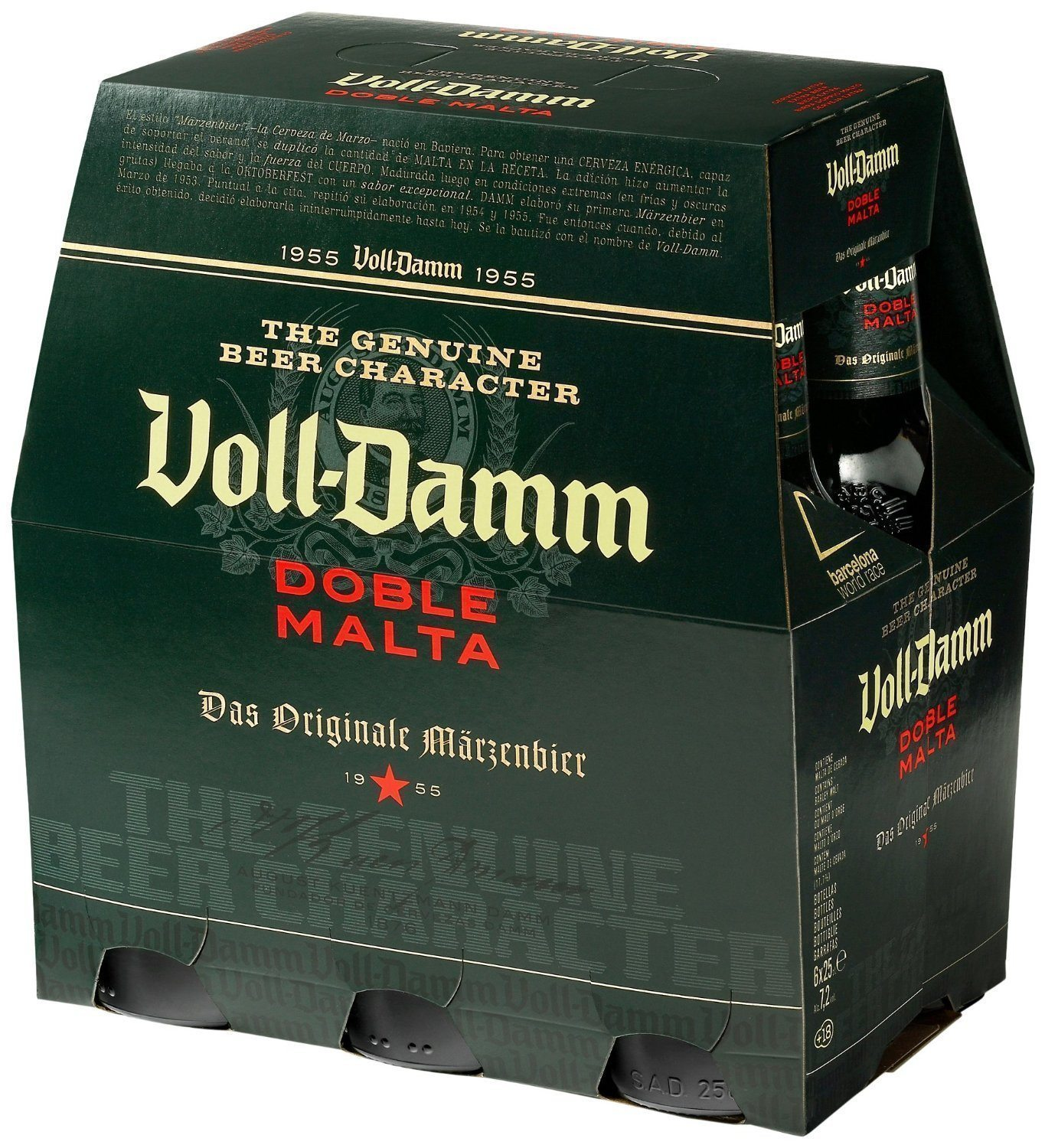 Voll damm v.d. voll damm pack 6 botella 25 cl