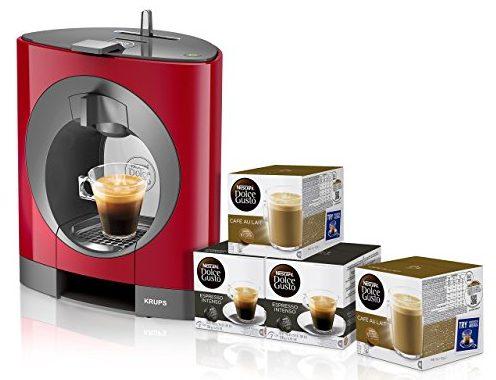Pack Krups Dolce Gusto Oblo + 3 packs de café