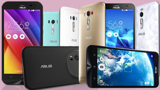 gama de teléfonos Zenfone de Asus