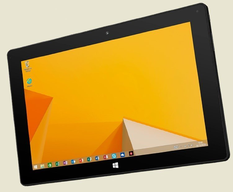 "BQ Tesla 2 - Tablet de 10.1"" (WiFi + Bluetooth 4.0, 32 GB, 2 GB RAM, Windows 8.1), negro"