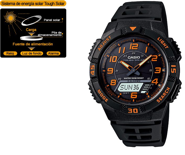 Casio collection AQ-S800W-1B2V
