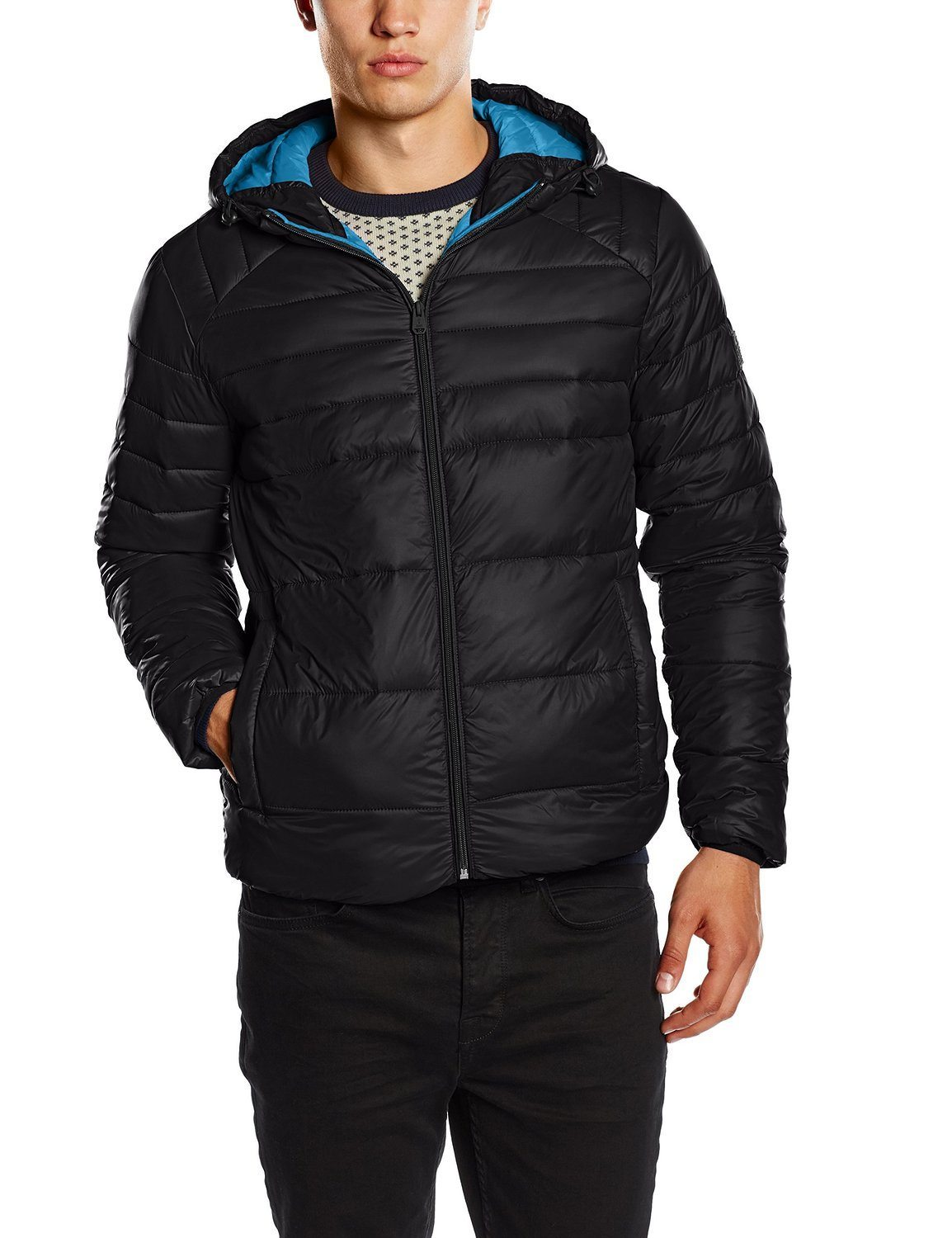 JACK & JONES Boom Puffer Jacket Camp