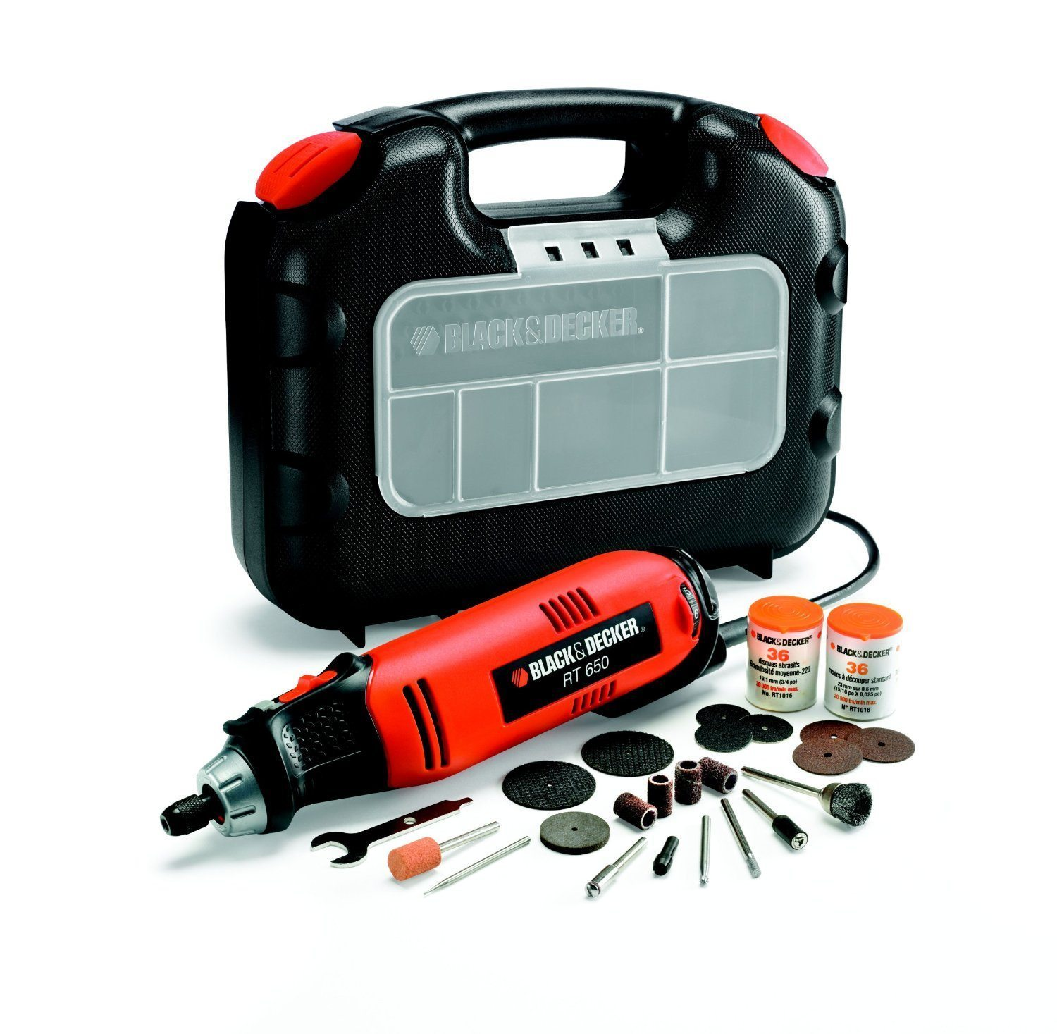 Black&Decker rt650ka - Multiherramienta (90 W, 220 V)