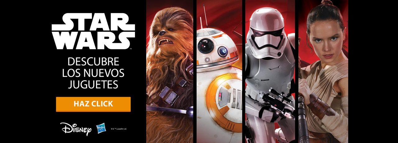 Descubre más juguetes de Star Wars!