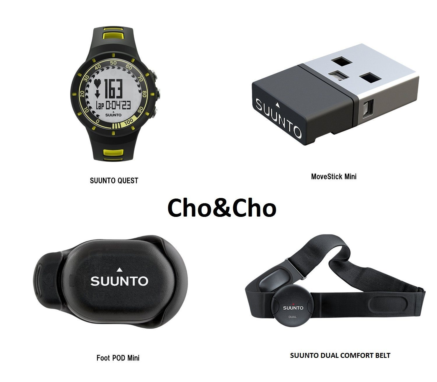 b04636d779d8 Suunto Quest Yellow Running Pack - Reloj deportivo pack