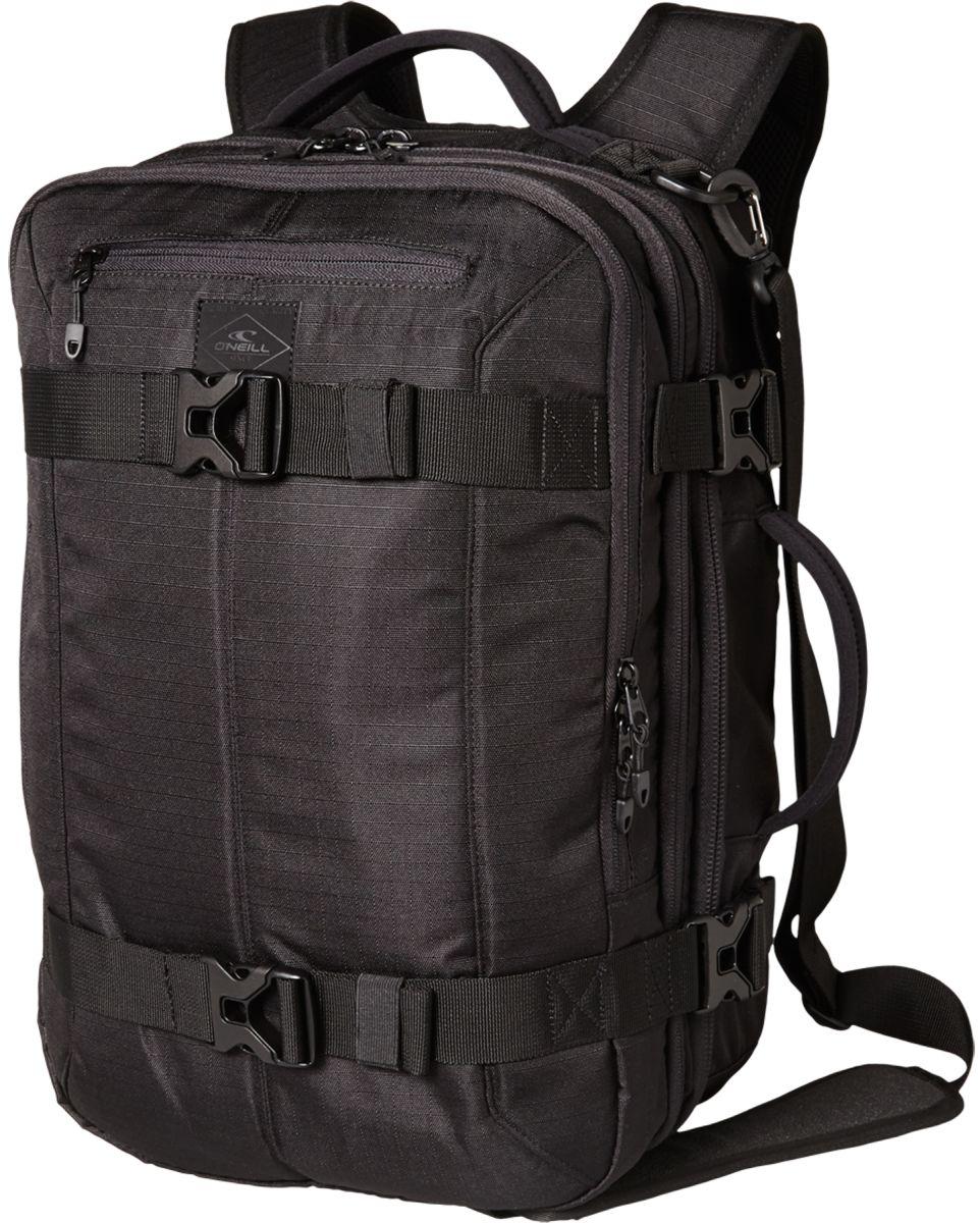 O'Neill AC Destination Backpack - Mochila para hombre, color negro, talla única