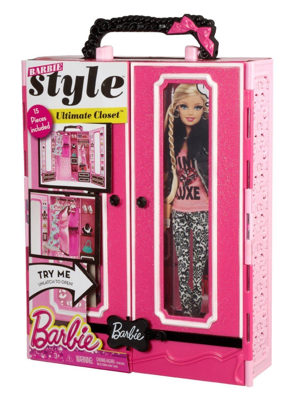 Barbie – Armario Style con accesorios (Mattel BMB99-0)