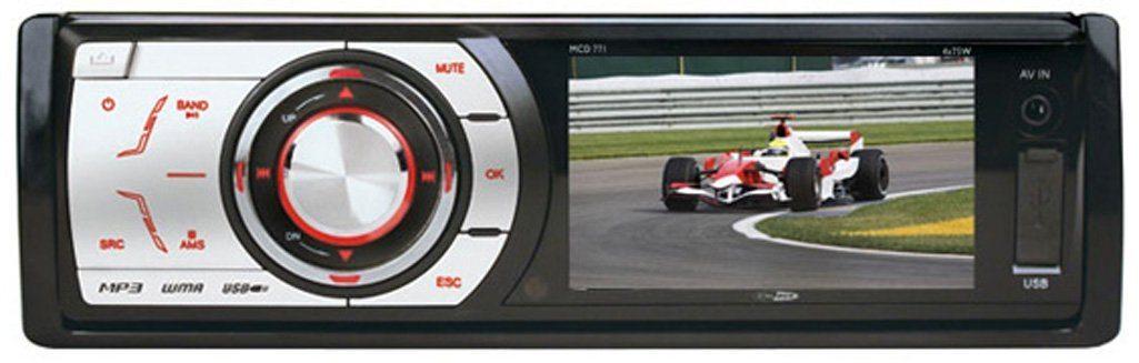 Caliber RDD771 sintonizador de CD/DVD para el coche
