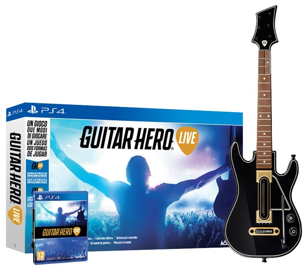 Guitar Hero Live + Guitarra