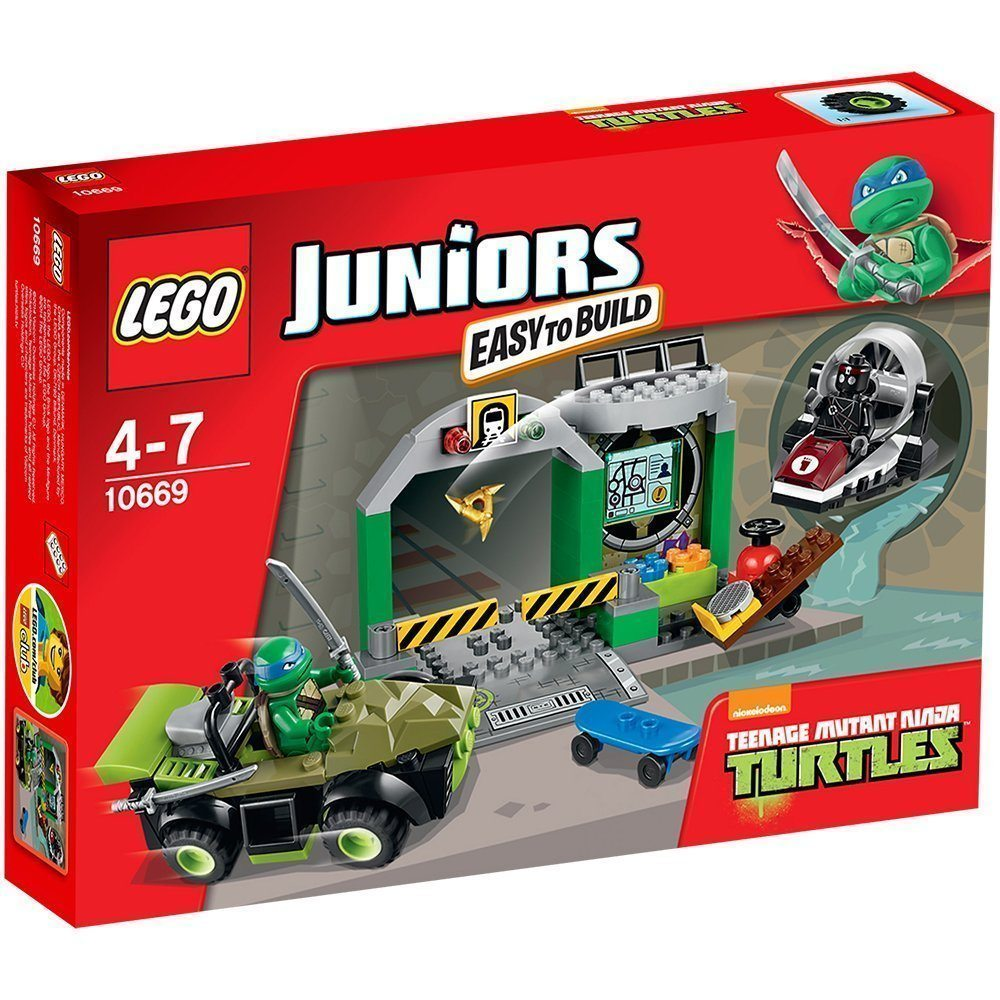 LEGO Juniors - La guarida de las tortugas (10669)