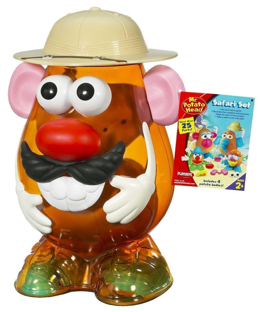 Mr. Potato - Safari, incluye cuerpos y 40 accesorios