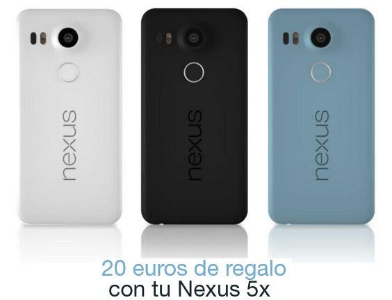 Promoción de Nexus
