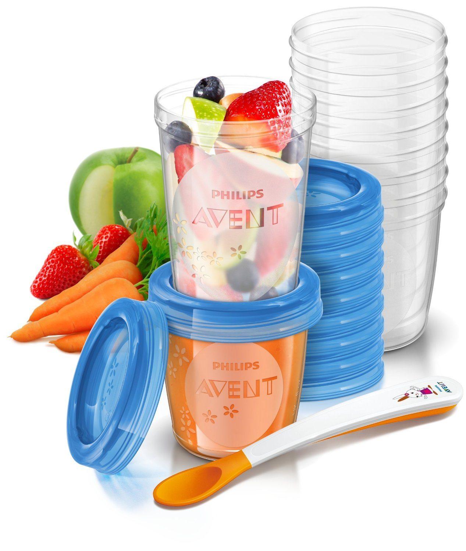 vasos de almacenamiento de comida SCF720/10 de Philips AVENT