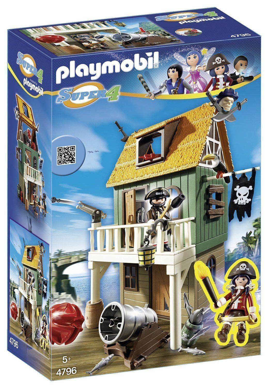 Playmobil - Fuerte Pirata, playset (4796)