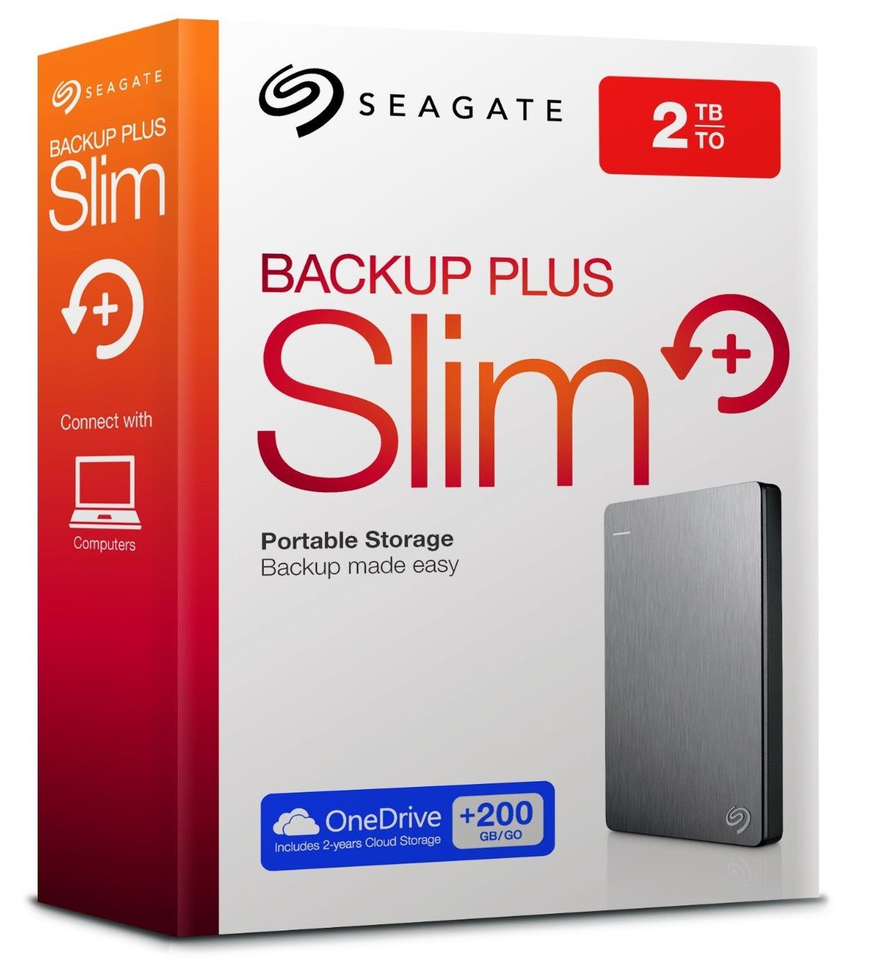Seagate Backup Plus Slim Onedrive 200gb chollo oferta ganga
