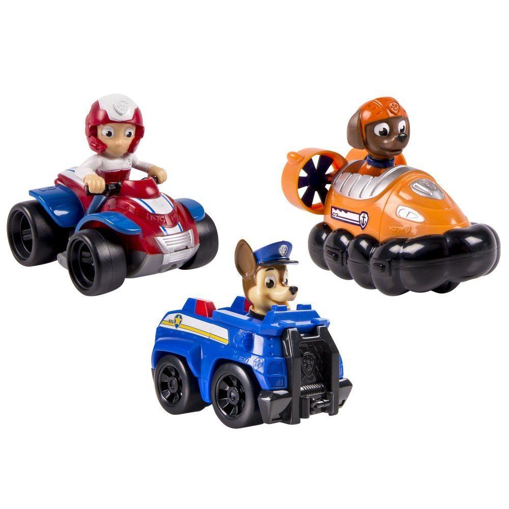 Set 3 Vehículos al rescate de la Patrulla Canina