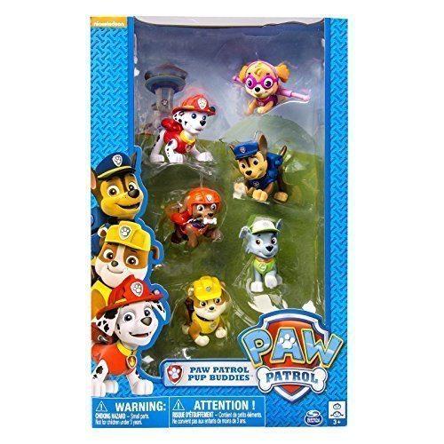 Set de 6 muñecos de la Patrulla Canina