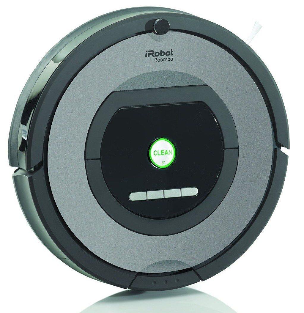 iRobot Roomba 772 - Robot aspirador, color negro y gris