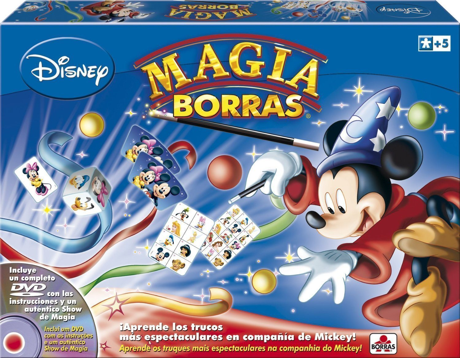 Educa Borrás 14404 - Mickey Magic Dvd