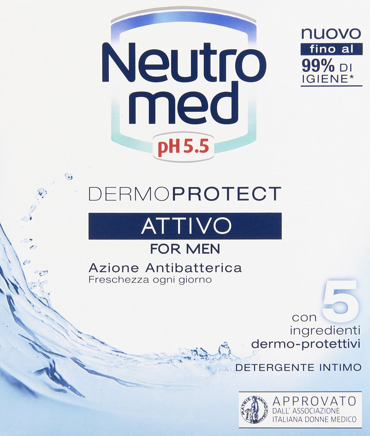 Neutromed Acción antibacteriana
