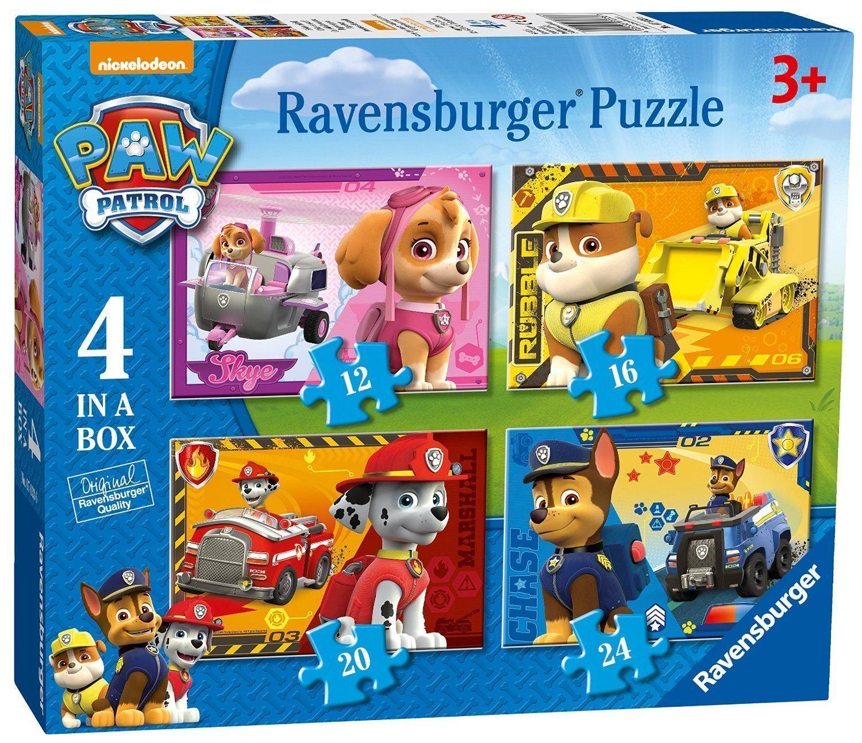 Paw Patrol - Paquete de 4 puzzles