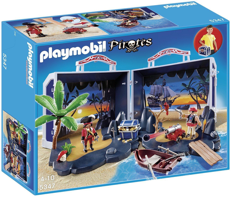 Playmobil Piratas - Cofre del tesoro (5347)