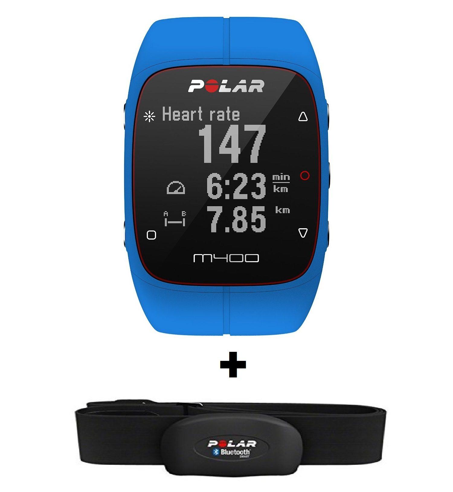 Polar M400 - GPS + sensor de frecuencia cardíaca H7
