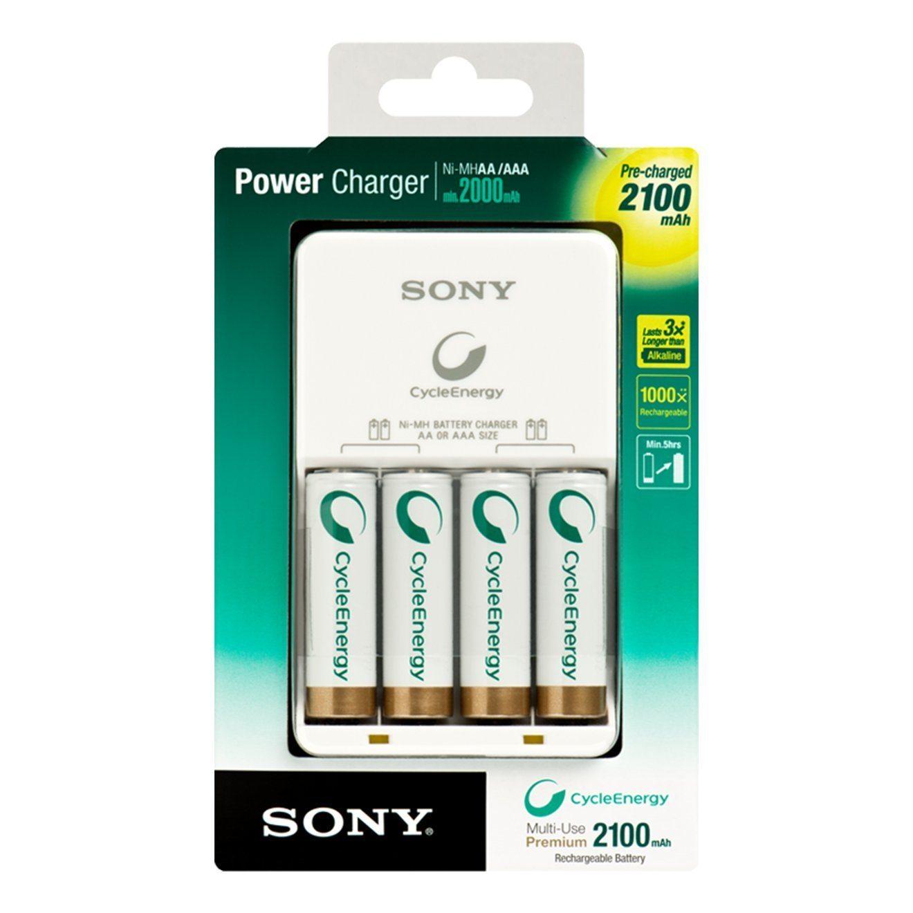 Sony BCG-34HH4KN  Cargador de pilas recargables