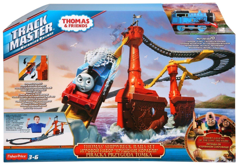 Thomas&Friends - El Rescate-Naufragio (Mattel CDW87)