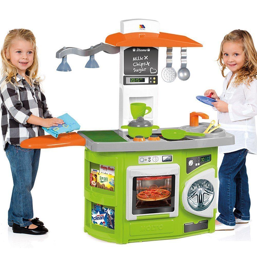 Molto - Cocina de juguete nueva con luz