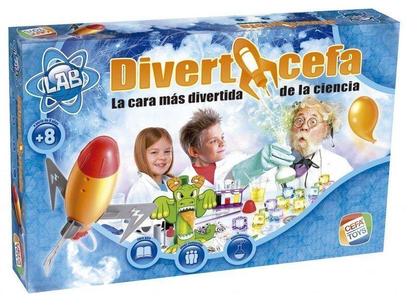 Descubre con Diverticefa la cara más divertida de la ciencia.